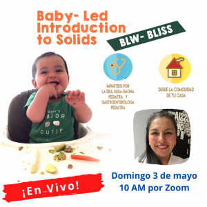Baby Led Introduction To Solids – BLW-BLISS – Curso Grabado
