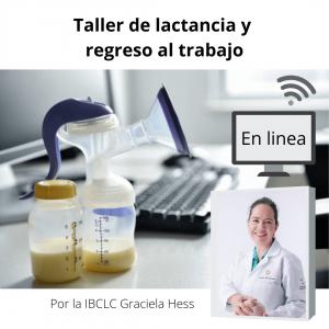 Taller de lactancia y regreso al trabajo – Curso en linea