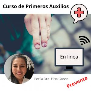 Primeros Auxilios – Curso en linea – Preventa